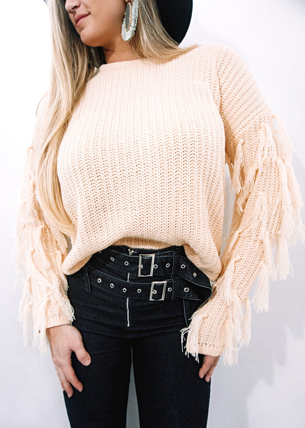 Cozy Fall Mornings Sweater, Beige