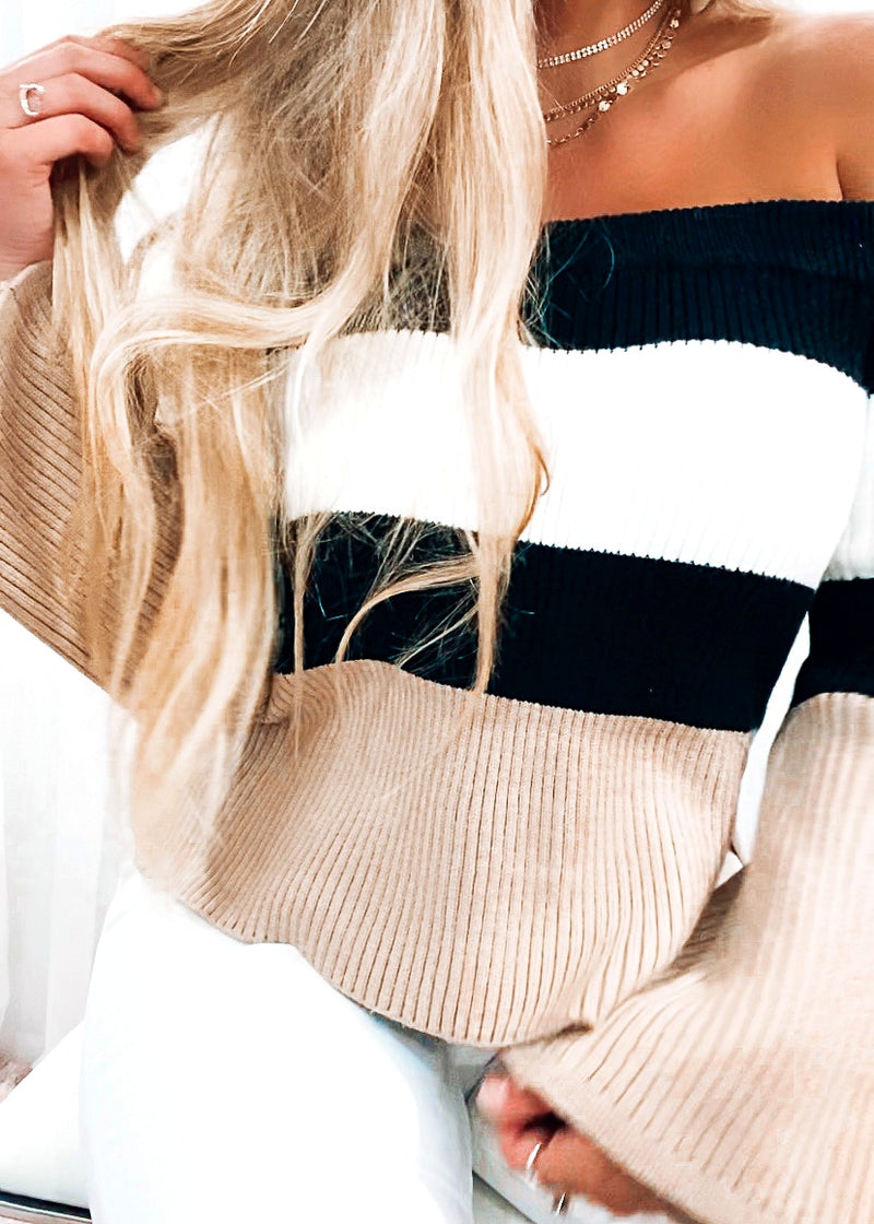 Cozy Colorblock Sweater