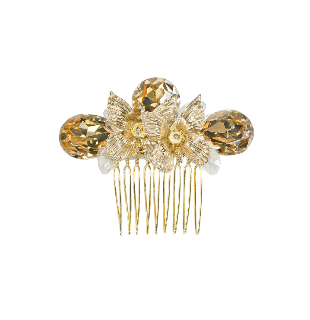 Butterfly Harmony Bridal Hair Comb