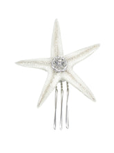 Seaside Sea Star Comb - Large in Silver