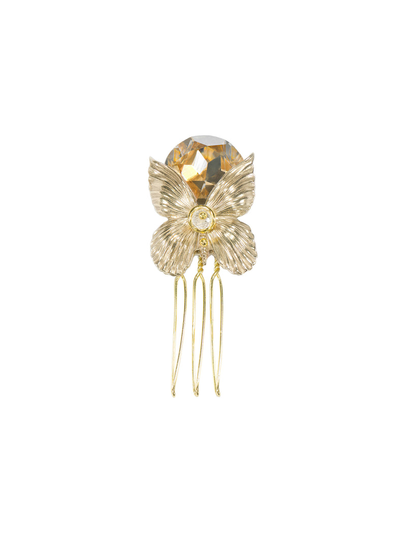 Butterfly Petite Bridal Hair Comb