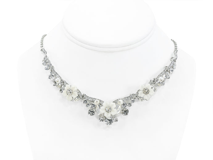 Opulence Rhinestone Necklace