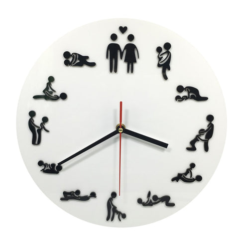 24hr Sex Position Clock - All Eyes on Her