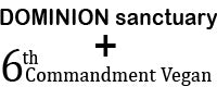 Dominion Sanctuary & 6th Commandment Vegan, Animal sanctuary & vegan tshirts & gifts, hats & mugs