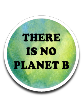 There is no planet B - Plant Based Roots Fundraiser Decal