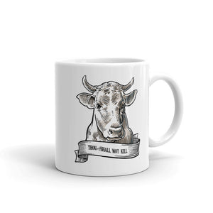 Thou shall not kill: cow- Mug