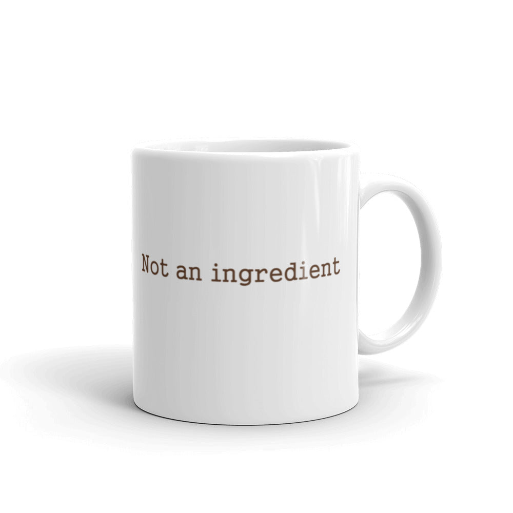Coffee mug- chicken, not an ingredient