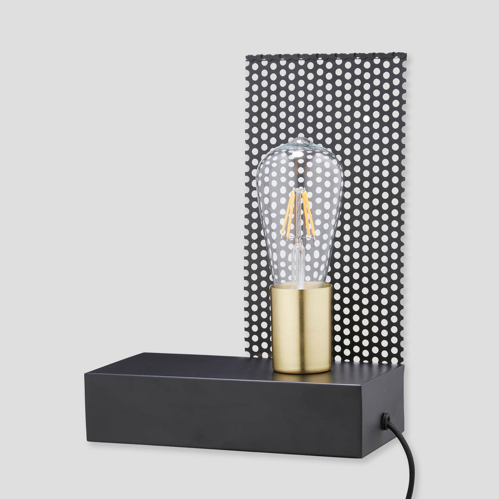 Wire Mesh Industrial Table Lamp – Urban Curation
