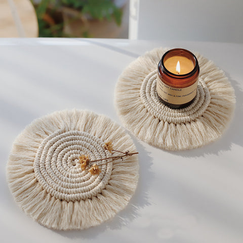 Macrame Candle Accessory