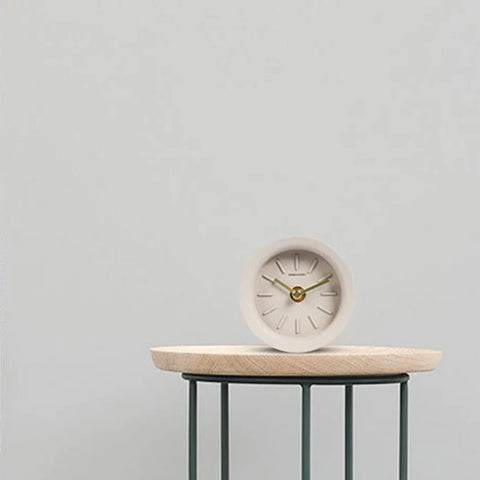 Cement Analog Clock