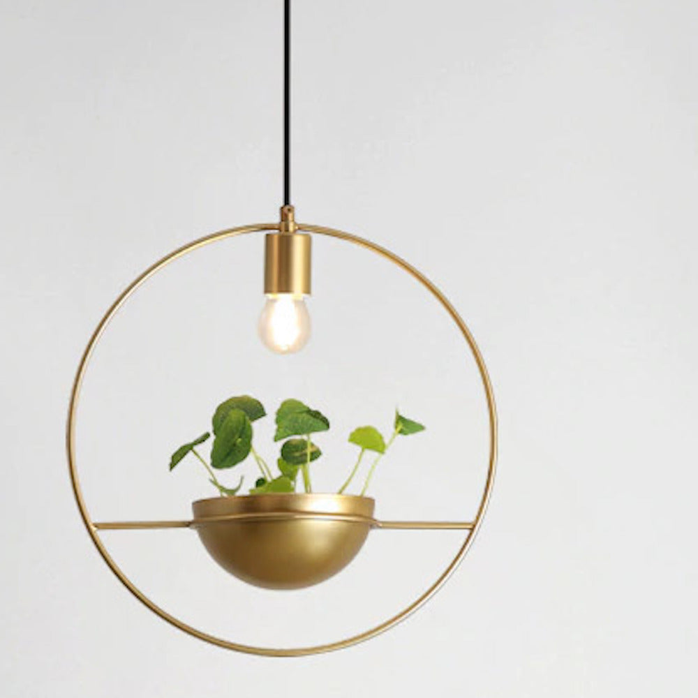 Planter Pendant Light