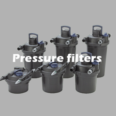 Pressure style filter systems