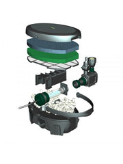 Bladgon In Pond 5 in 1 pump, filter, LED light and UVC - Small Ponds Only