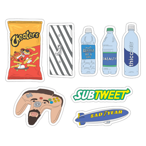 Somehoodlum sticker pack