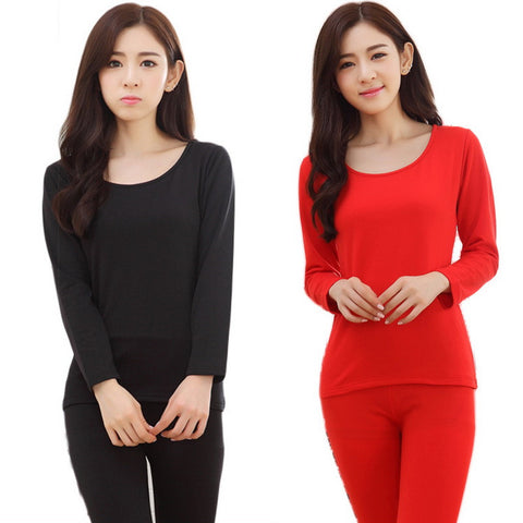 Free ship Thermal Underwear Warm Cotton Long Johns Bodysuit  Keep Slimming body shirt Home Clothing Best Quality Plus size