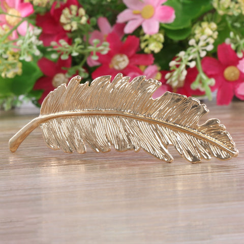 1 pcs Fashion Metal Leaf Hair Clip Hairpins Wedding mariage Hair pin Hair Jewelry Accessories Sale