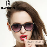 BAVIRON Scrub Frame Sunglasses Women Lightweight Mirrored Glasses Cat Eye Colorful Plastic Eyewear Super Discount Gafas 88286