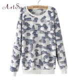 ArtSu 2017 Women Hoody Spring Autumn Long Sleeve Casual Sweatshirts Women Cute Print Hoodies Moleton Feminine Oversize EPHO80045