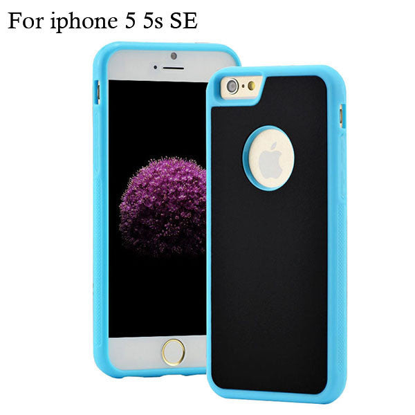 Anti-gravity Case For iPhone 6 6S 6 Plus Cases Antigravity Magical Back Cover Anti gravity Nano Suction Cover Adsorbed Shell New