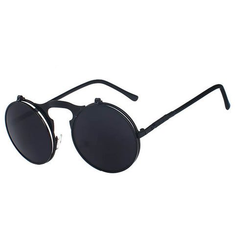 Classic Retro Brand Steampunk Sunglasses