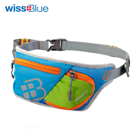 WissBlue Outdoor Running Waist Bag Waterproof Mobile Phone Holder Sports Jogging Belt Belly Bag Women Gym Fitness Bag Lady