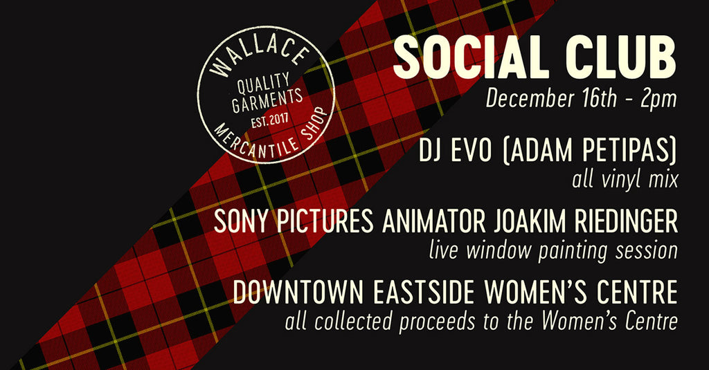 WALLACE SOCIAL CLUB HOLIDAY EDITION