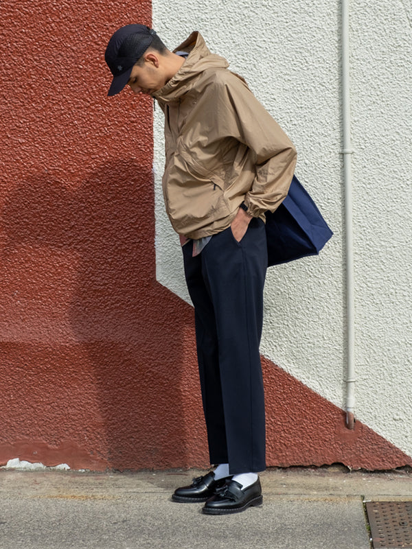 wallace style 6 goldwin element jacket compact jet hat soulland orson shirt erich pant navy american trench mil-spec solovair loafers black wallace mercantile shop vancouver canada