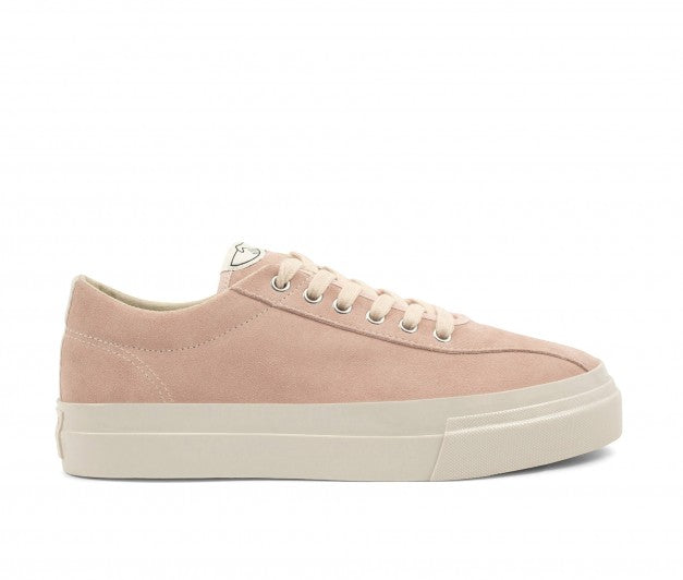 stepney workers club suede dust pink dellow