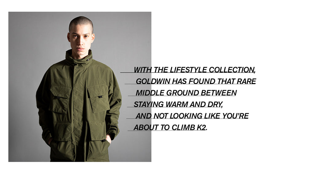 goldwin jacket outerwear made in japan north face purple label nanamica