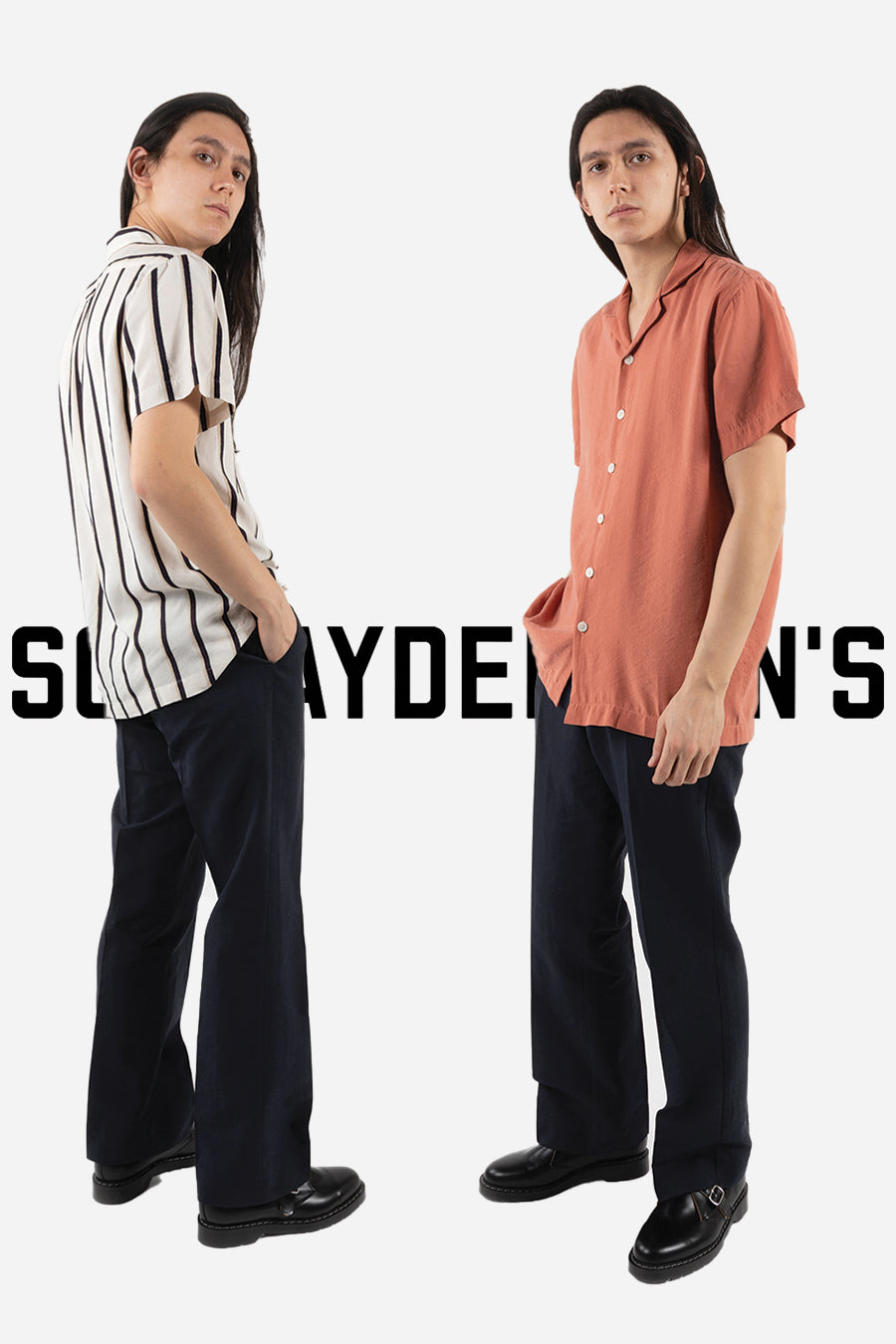 schnayderman's spring summer 2021 boxy fit shirts shirting available at wallace mercantile shop vancouver canada