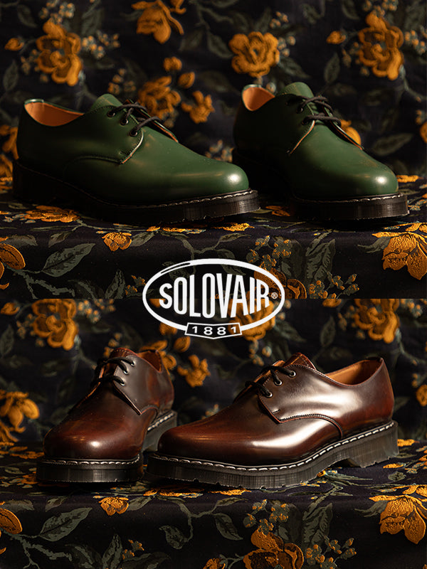 solovair ss21 3 eye gibson tassel loafers single buckle monk shoe wallace mercantile shop