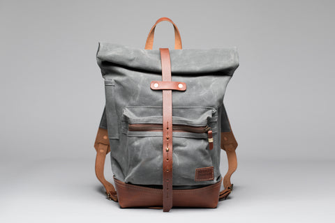 Biographer Backpack - Charcoal