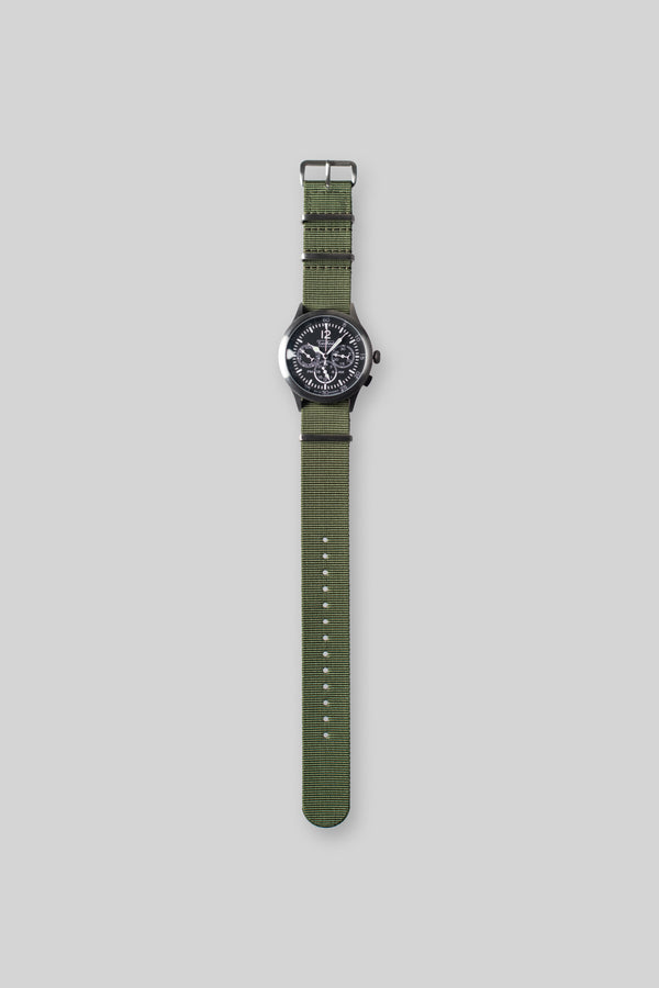 Merlin 296 GB Olive Watch