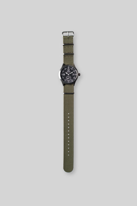 Merlin 246 GB Olive Watch