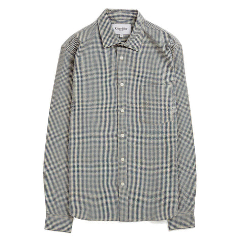 Seersucker Gingham LS - Blue