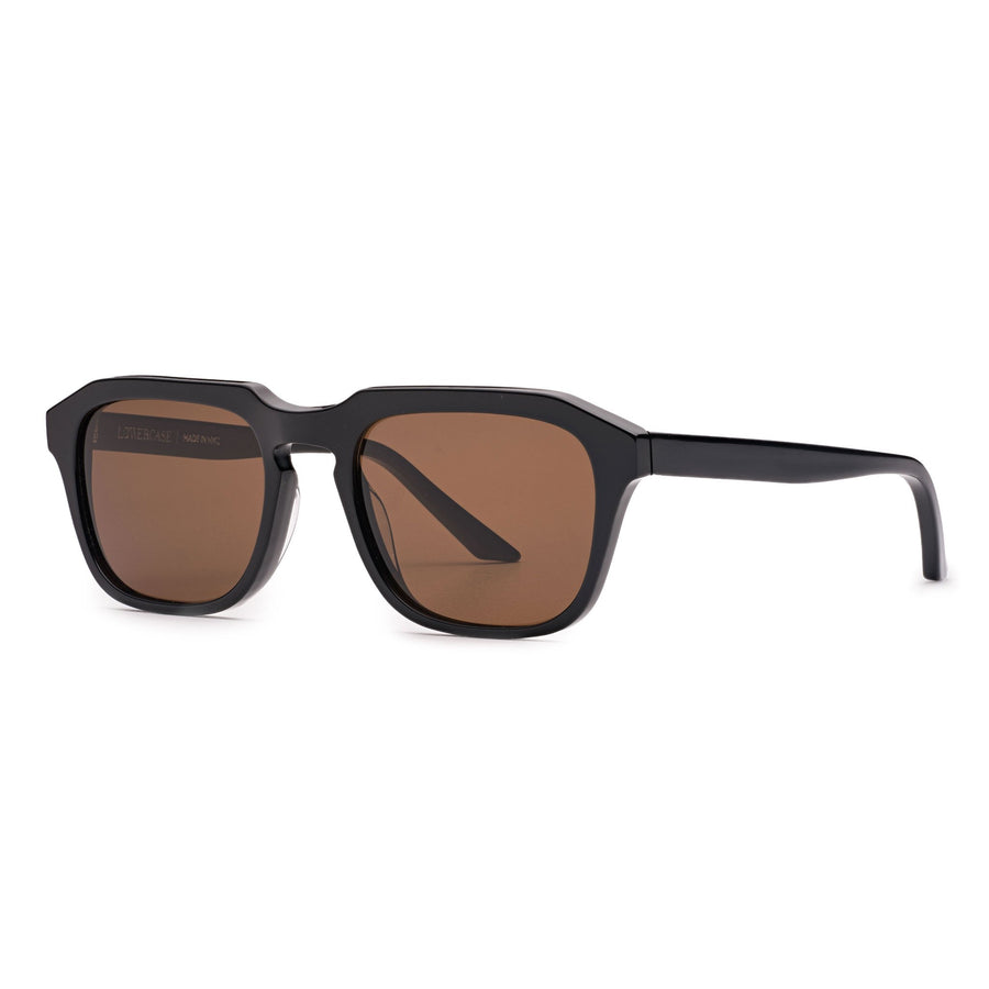 Lowercase NYC Clement Sunglasses Black