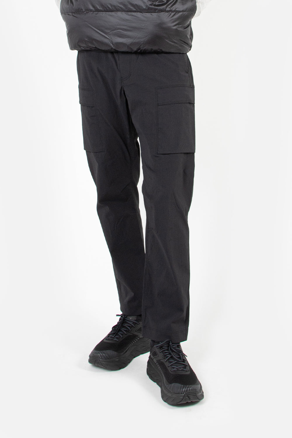 goldwin cordura stretch cargo black pant