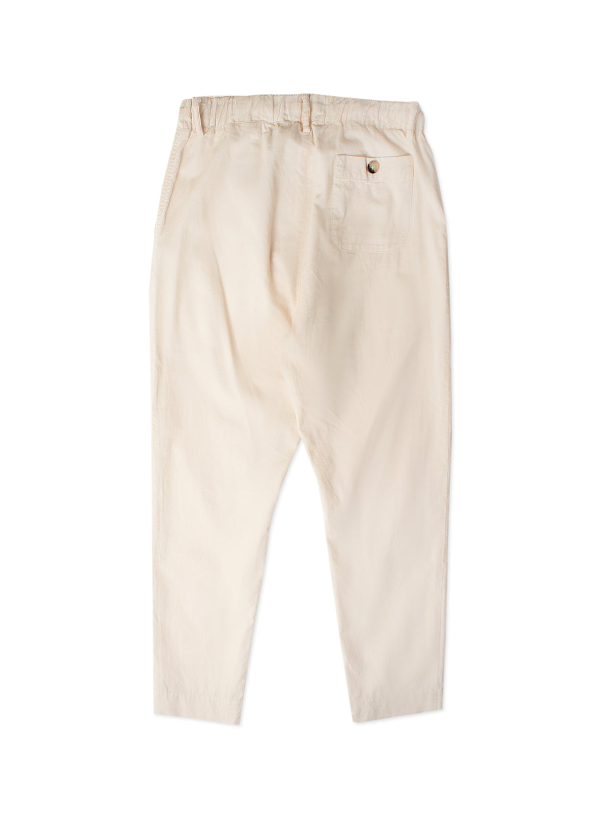 Inverness Trouser - Off-White Brisbane Moss Cotton Cord