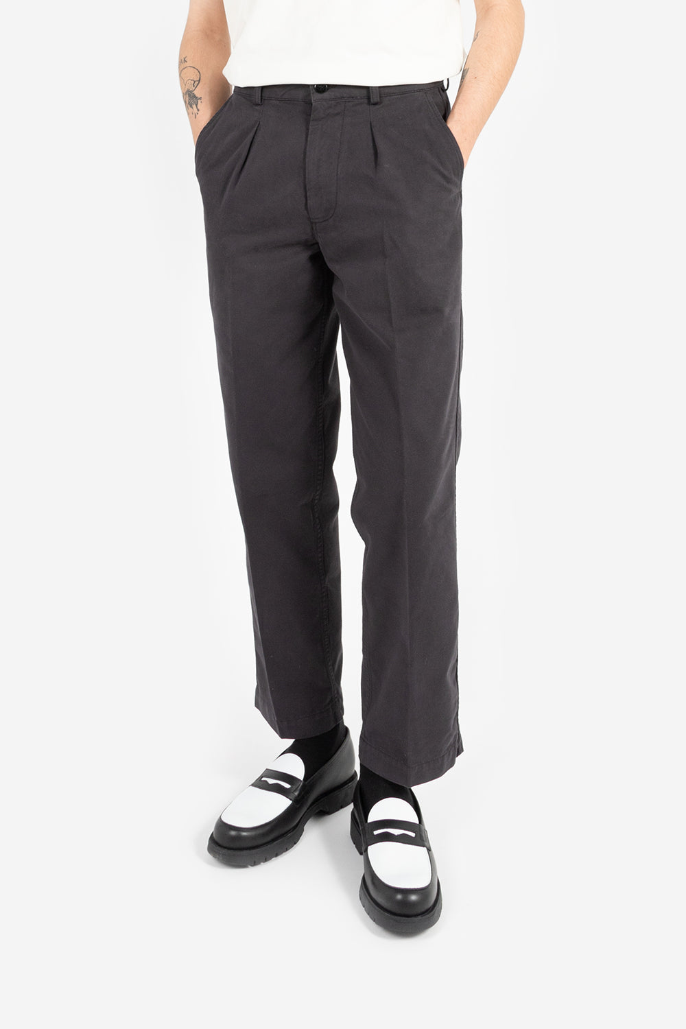 Knickerbocker Single Pleat Twill Trouser