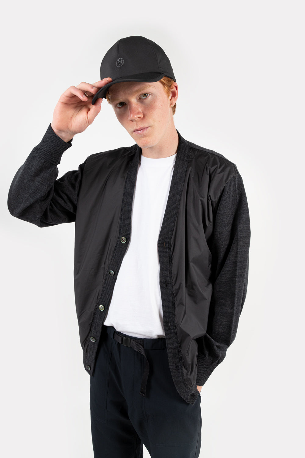 nanamica gore-tex cap in black