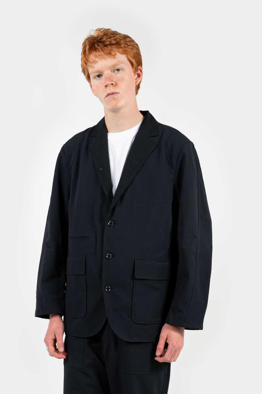 nanamica nanamican club alphadry jacket in navy