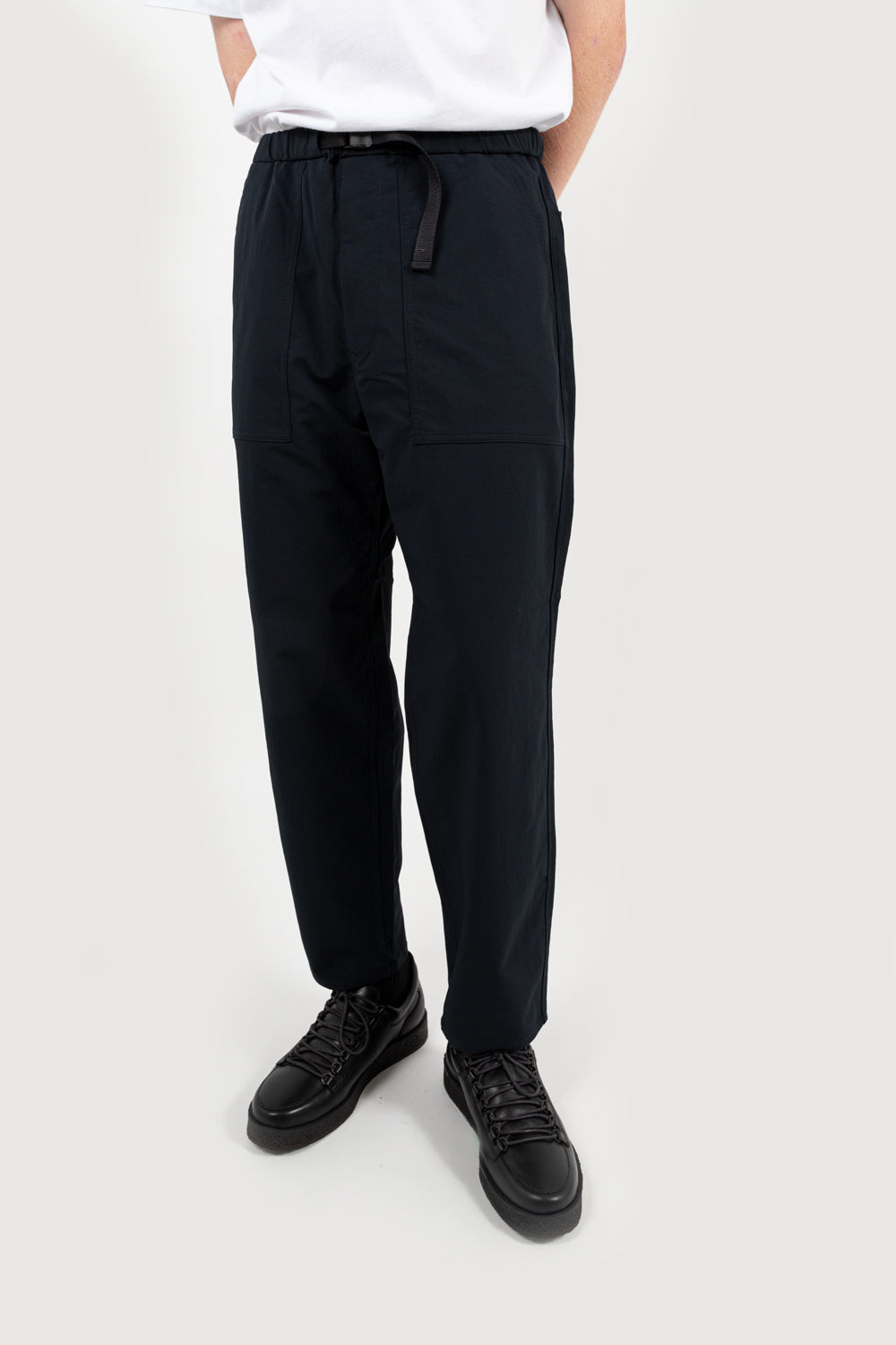 nanamica nanamican alphadry dock pants in dark navy