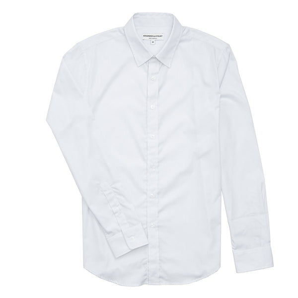 Grant Dress Shirt - White