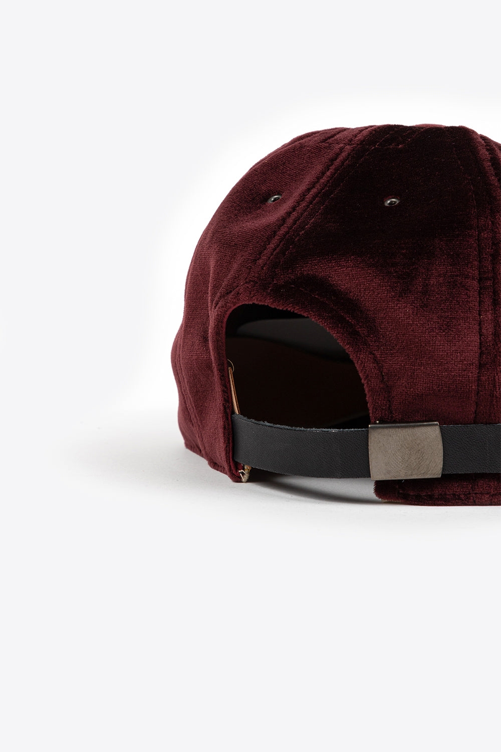 Poten Baseball Cap Velour Wine