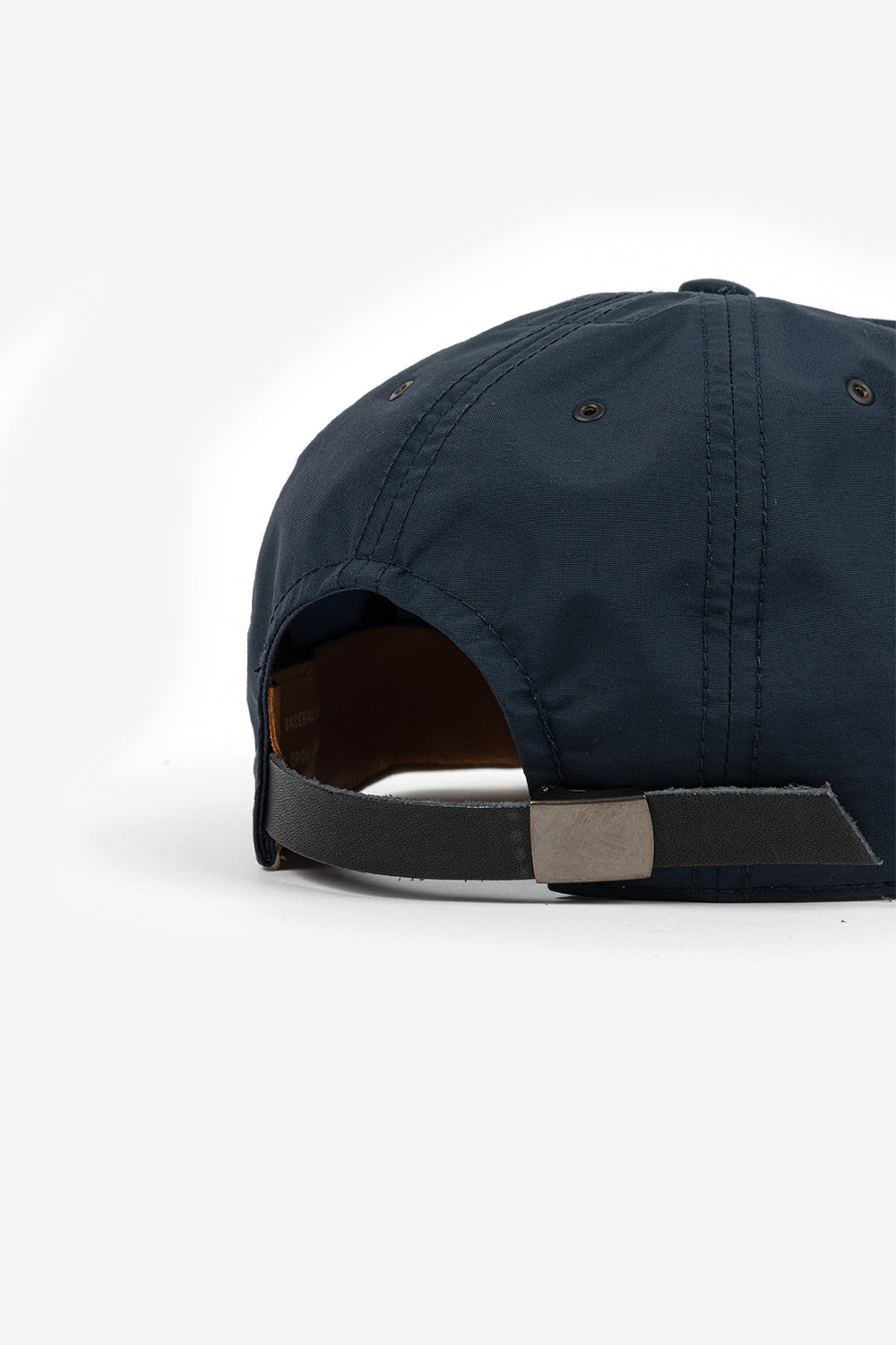 Poten Baseball Cap Nylon Navy Water Repellent