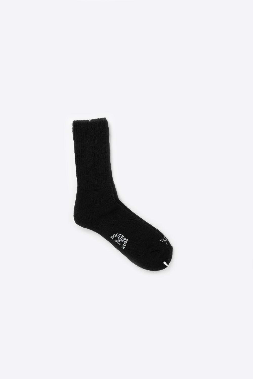 rostersox merino wool pile black front