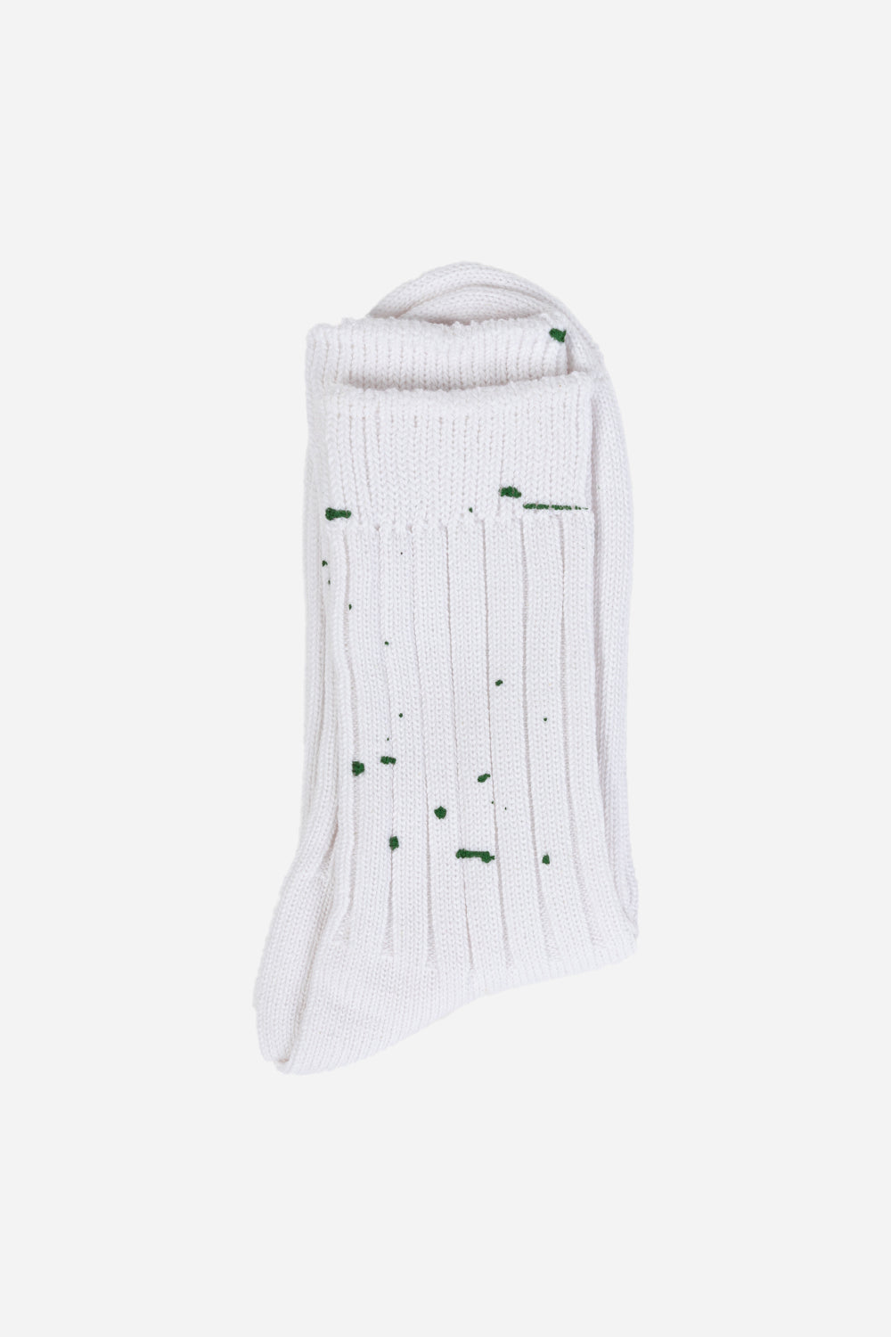 Rostersox-paint-socks-emerald-white