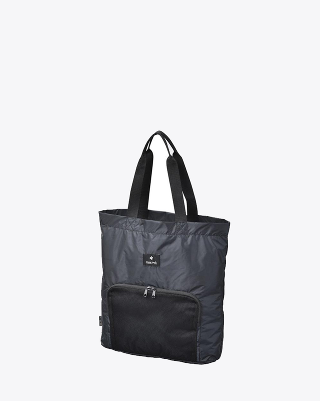 Pocketable Tote Bag Type 01 - Black