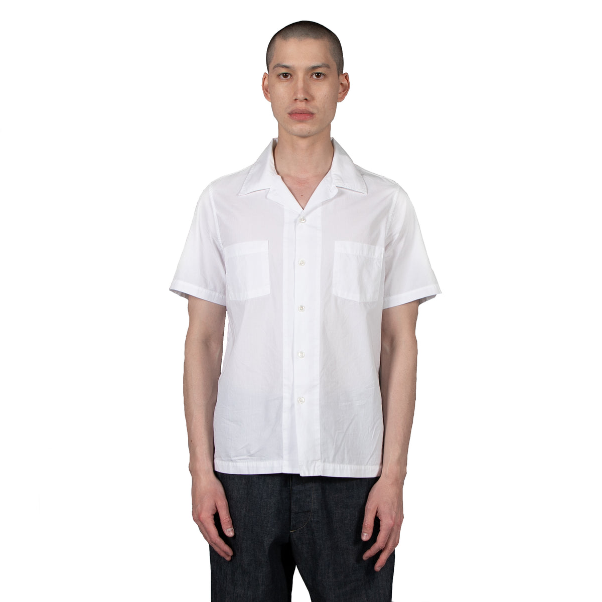 Comma Camp Shirt S/S - Avalanche