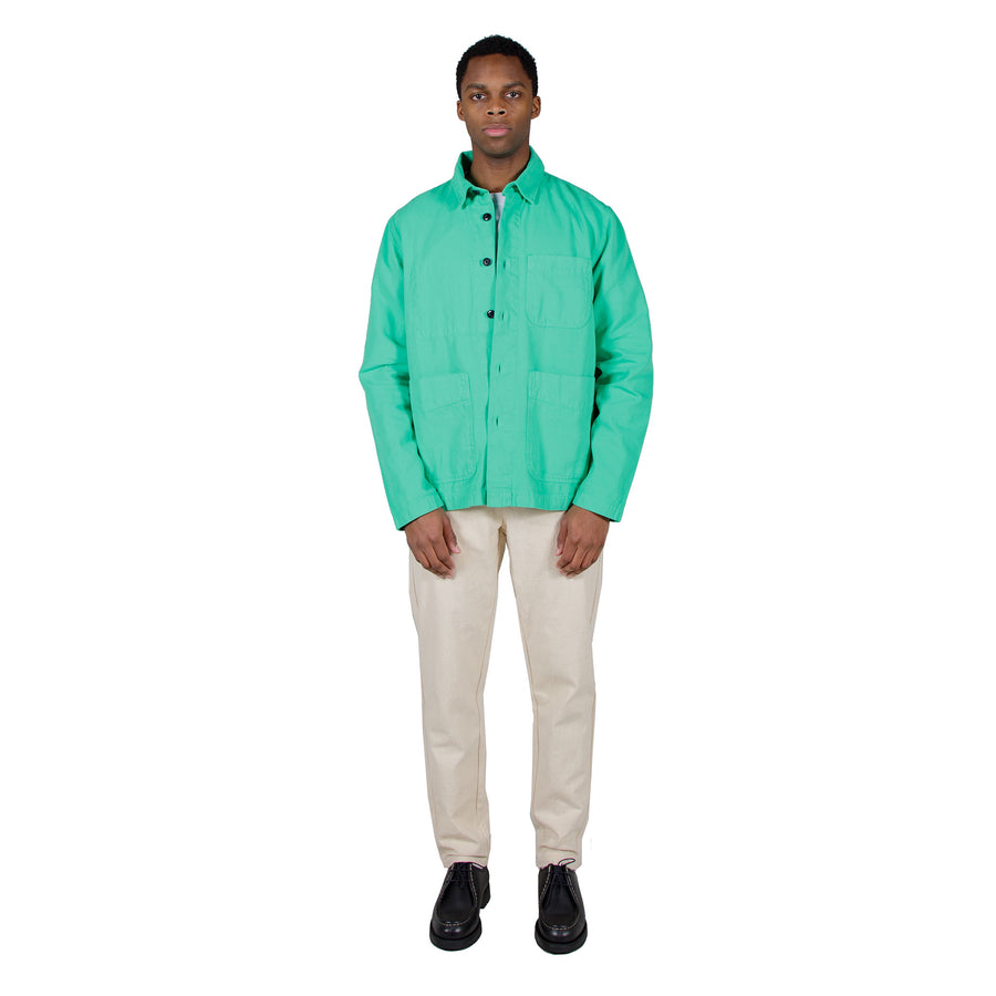 Albam Foundry Shirt in Bright Green